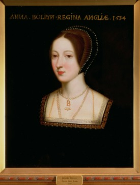 Portrait of Anne Boleyn (1507-36), Second wife of Henry VIII of England, 1534